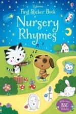 First Sticker Book Nursery Rhymes