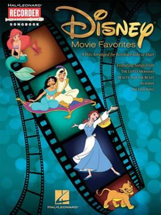 Disney Movie Favourites (Recorder)