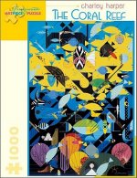 Charley Harper the Coral Reef 1000-Piece Jigsaw Puzzle