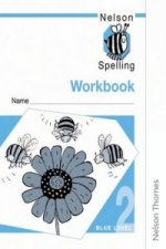 Nelson Spelling - Workbook 2 Blue Level (x10)