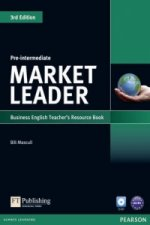 Market Leader 3rd Edition Pre-Intermediate Teacher's Resource Book/Test Master CD-ROM Pack
