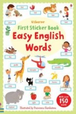 Easy English Words Sticker Book