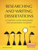 Researching and Writing Dissertations : A Complete Guide for