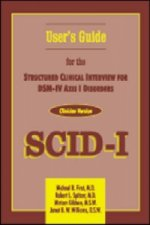 Structured Clinical Interview for DSM-IV Axis I Disorders