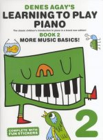 Denes Agay's Learning To Play Piano - Book 2 - More Music Basics]