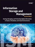 Information Storage and Management: Storing, Managing, and P