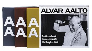 Alvar Aalto - Das Gesamtwerk / Loeuvre complète / The Complete Work, 3 Tle.