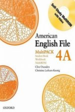American English File Level 4: Student Book/Workbook Multipa