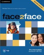 face2face Pre-intermediate Workbook with Key