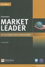 Market Leader 3rd Edition Elementary Teacher's Resource Book/Test Master CD-ROM Pack