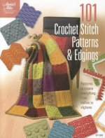 101 Crochet Stitch Patterns & Edgings