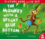 Monkey with a Bright Blue Bottom