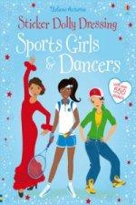 Sticker Dolly Dressing Sports & Dancers