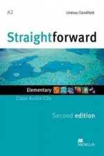 Straightforward 2nd Edition Elementary Level Class Audio CDx2