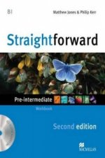Straightforward 2nd Edition Pre-Intermediate Level Workbook without key & CD