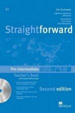 Straightforward Pre-intermediate Level Teachers Book Pack 2E