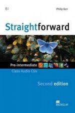 Straightforward 2nd Edition Pre-Intermediate Level Class Audio CDx2