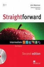 Straightforward 2nd Edition Intermediate Level Workbook without key & CD