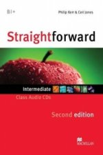 Straightforward 2nd Edition Intermediate Level Class Audio CDx2