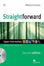 Straightforward 2nd Edition Upper Intermediate Level Workbook with key & CD Pack