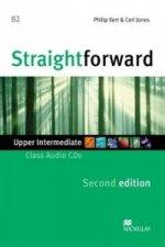 Straightforward 2nd Edition Upper Intermediate Level Class Audio CDx2