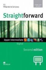 Straightforward 2nd Edition Upper Intermediate Level Digital DVD Rom Single User