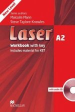 Laser 3rd edition A2 Workbook with key Pack