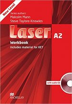 Laser 3rd edition A2 Workbook without key Pack