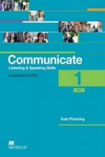 Communicate 1 / B1 - Listening and Speaking Skills - Coursebook and DVD