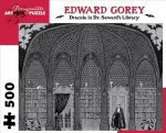 Dracula in Dr. Seward's Library 500-Piece Jigsaw Puzzle