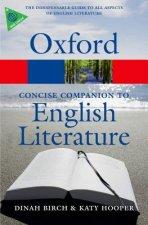 Concise Oxford Companion to English Literature
