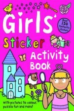 Girls' Sticker Activity Book