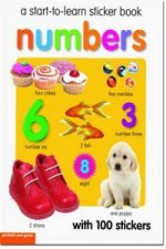 Start To Learn Numbers Sticker Book