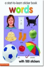 Start To Learn Words Sticker Book