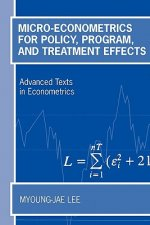 Micro-Econometrics for Policy, Program and Treatment Effects