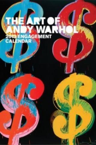 Art of Andy Warhol 2013 Engagement Calendar