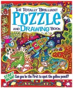Totally Brilliant Puzzle & Drawing Book