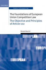 Foundations of European Union Competition Law