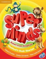 Super Minds American English Starter Student's Book with DVD