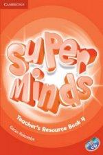 Super Minds Level 4 Teacher's Resource Book with Audio CD