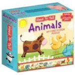 Head To Tails Animals Floor Puzzle