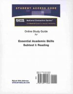 Access Code Card for the Online Tutorial for the National Evaluation Series Essential Academic Skills Subtest I