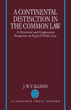Continental Distinction in the Common Law