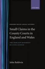 Small Claims in the County Courts in England and Wales