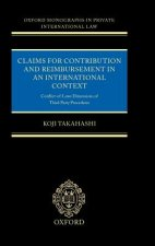 Claims for Contribution and Reimbursement in an International Context