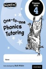 Read Write Inc.: Phonics One-to-One Phonics Tutoring Progress Book 4 Pack of 5