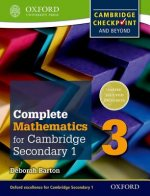 Complete Mathematics for Cambridge Lower Secondary Student Book 3