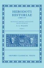 Herodotus: Histories, Books 1-4 (Herodoti Historiae: Libri I-IV)