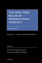 New York Rules of Professional Conduct Fall 2012
