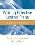 Writing Effective Lesson Plans